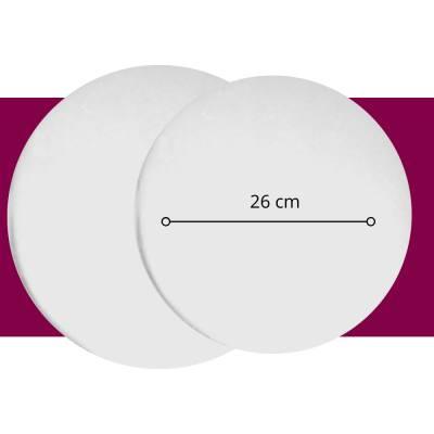 Pastelería - Base Circular 26 cm - Paq x10