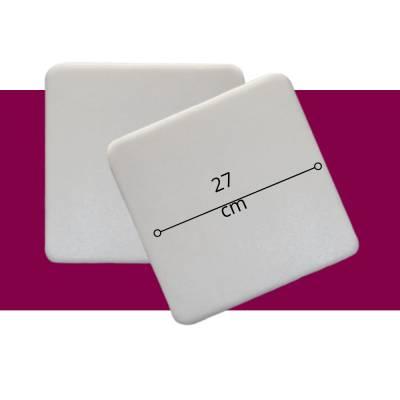 Pastelería - Base Cuadrada 27 cm - Paq x 10 unid