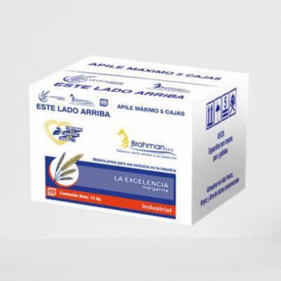 Panadería - Margarina industrial multiusos la Excelencia x 15 kg