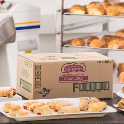 Pastelería - Margarina hojaldre gourmet x15 kg