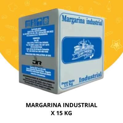 Panadería - Margarina industrial x 15 kg Coopasan