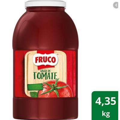 Salsas, aderezos y vinagre - Salsa de tomate x 4.350 Gr
